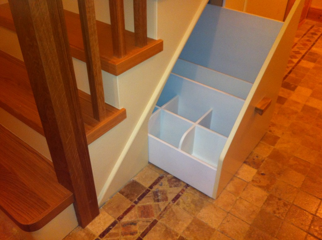 under stairs storage stairs UK