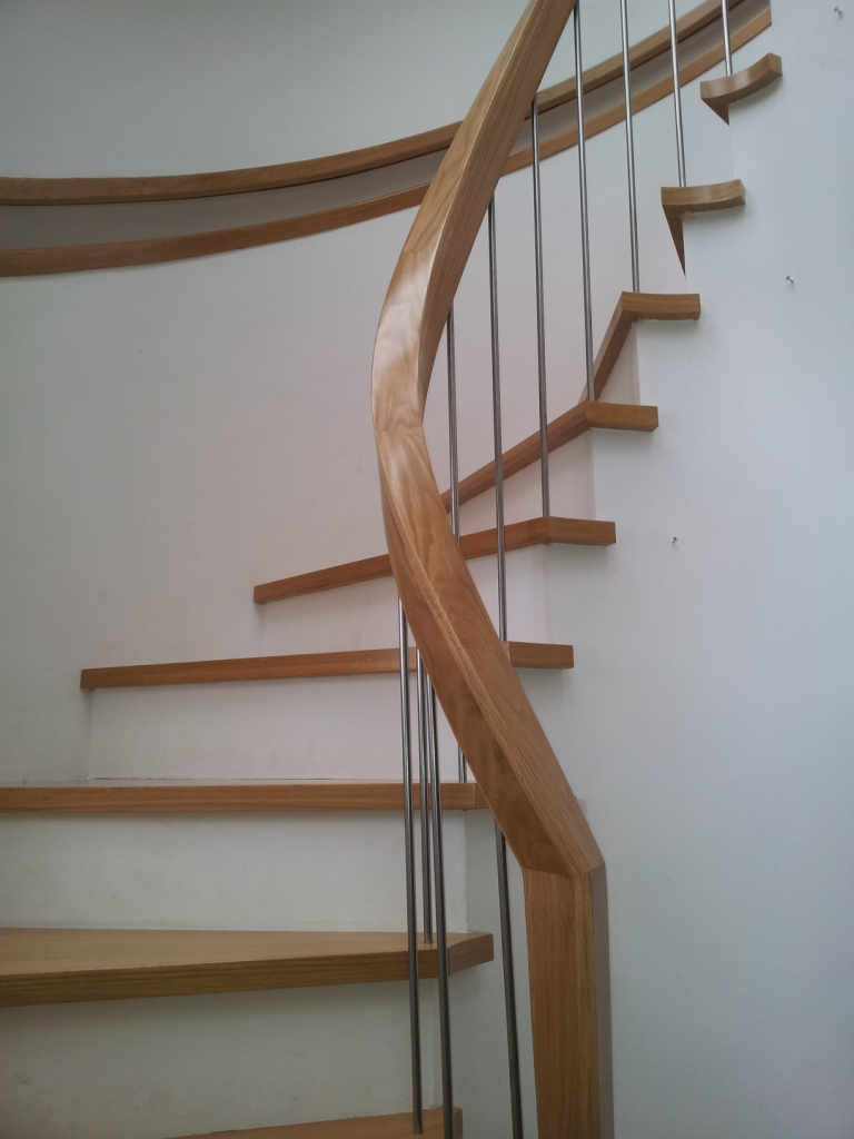 Stairs, staircase, oak stairs, JEA, Dublin, stair