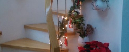 Stairs for the Festive Season