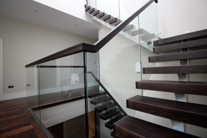 Hardwood Stairs UK in Modern Design