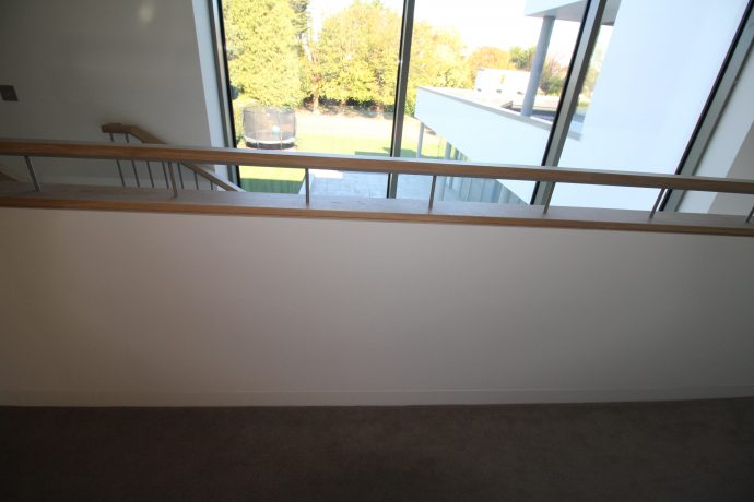 Modern simple Balcony for modern stairs