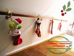 Blog stairs uk by jea for Hang stockings staircase
