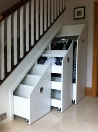 Storage Solution Stairs Ireland By Jea